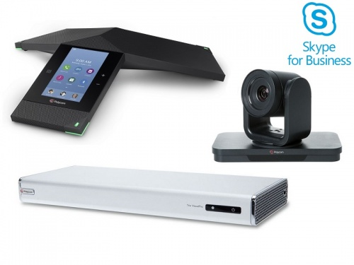 Polycom Trio 8800 VisualPro Collaboration Kit, EagleEyeIV 4x, SfB